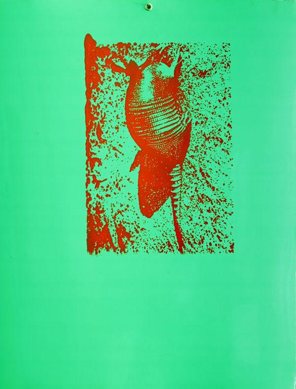 6-animaux-en-voie-d-extinction-Tattoo-sérigraphie-sur-chromolux-1996-50x65-credit-JC-Let-veronique-rizzot