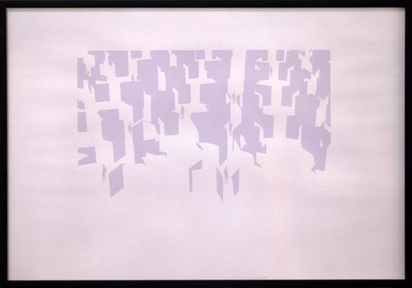 Man-in-labyrinth-44,5x32cm-silkscreen-2010-creditsph-jc-Lett@rizzo-2